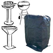 T-PRO Schutzhülle für Grill - Farbe: Schwarz