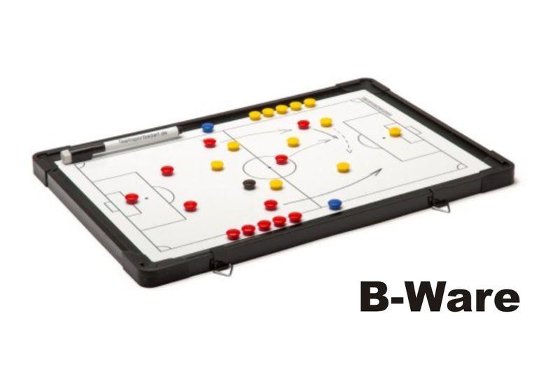 FUSSBALL - Taktiktafel (beidseitig) 300 x 450 mm (B-Ware)