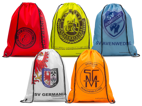 Sports Bag 5 colours – with your imprint