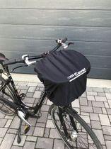 T-PRO Regenschutz für Fahrradkorb - Farbe: Schwarz