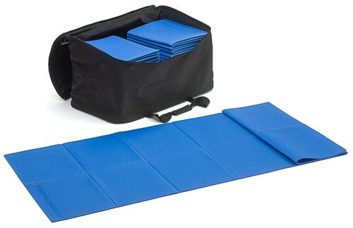 Set di 10 tappetini ripiegabili per fare ginnastica (173x61x0,3 cm.) – uso outdoor