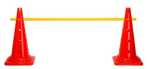 Kegelhürde (Einzelhürde), Hürdensystem - Höhe: 52 cm