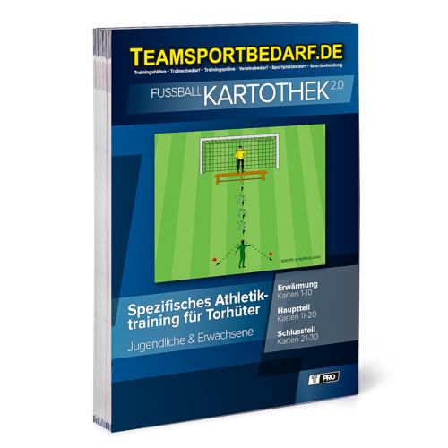 """T-PRO Kartothek 2.0 Fussball - """"Spezifisches Athletiktraining für Torhüter"""""""