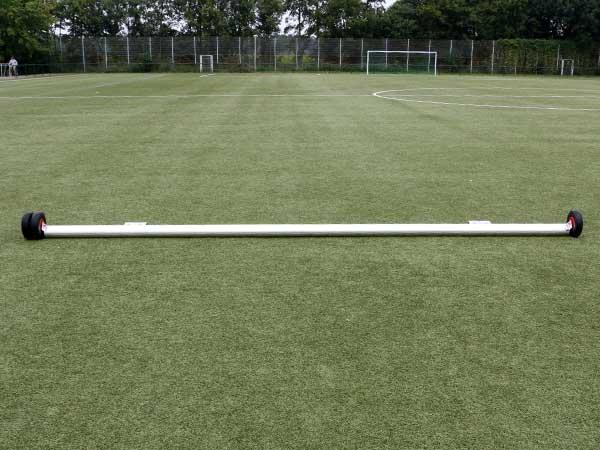 Stahlbefüllte Gewichte für vorhandene Fußballtore