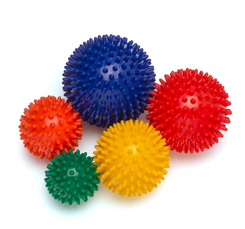 Igelball 5er Set (Massageball) - 5 Größen
