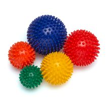 Set of 5 Spikey Balls (Massage Balls) - 5 Sizes