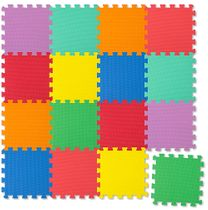 Puzzle Mat (Play Mat), 16 pieces – multicoloured