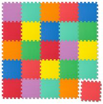 Puzzle Mat (Play Mat), 25 pieces – multicoloured