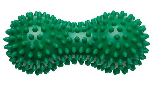 Peanut Igelball (Massageball) 15x7 cm - Farbe: Grün