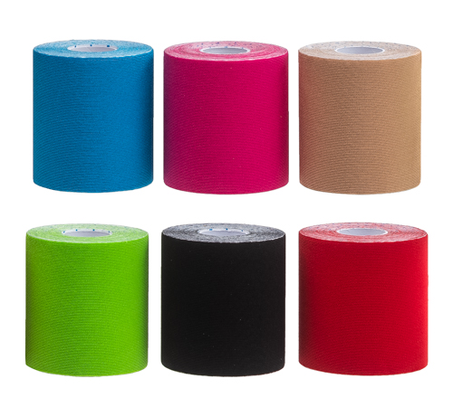 Kinesiology Tape (7,5 cm x 5 m) - 6 Farben