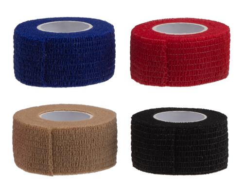 Bandage (self-adhesive) 2.5 cm x 4 m - 4 colours