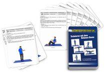 """Trainingskarten - """"Trainieren mit dem Balance Dome"""" (30 Workouts)"""