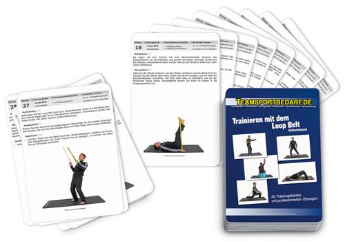 """Trainingskarten - """"Trainieren mit dem Loop Belt"""" (30 Workouts)"""