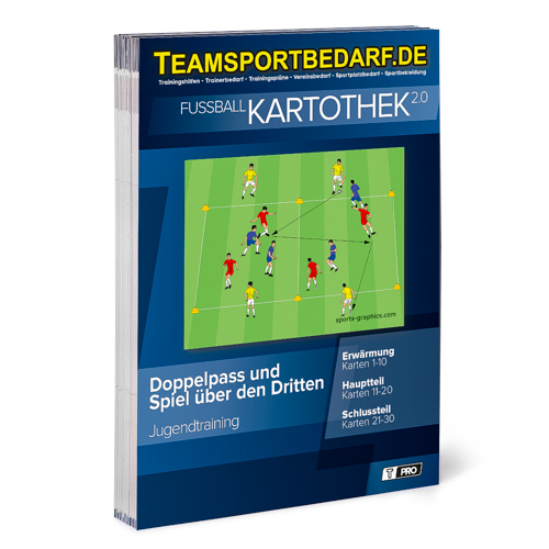 """T-PRO Kartothek 2.0 Fussball - """"Doppelpass und Spiel über den Dritten"""""""
