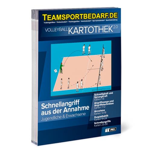 """T-PRO Kartothek 2.0 Volleyball - """"Schnellangriff aus der Annahme"""""""