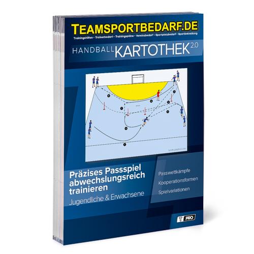"""T-PRO Kartothek 2.0 Handball - """"Präzises Passspiel abwechslungsreich trainieren"""""""
