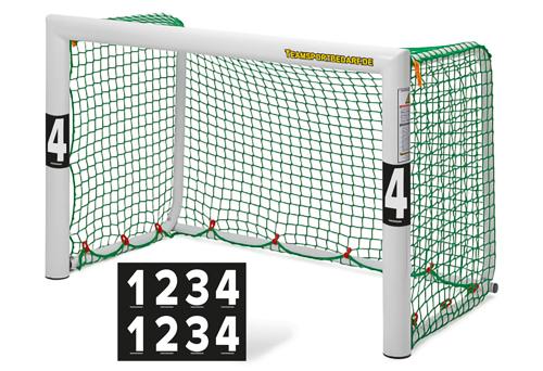 Klebeziffern für Minitore - Set (2x 1-4)