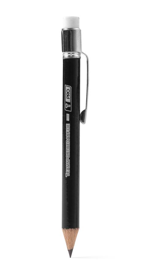 T-PRO Bleistift (inkl. Clip) - Farbe: Schwarz