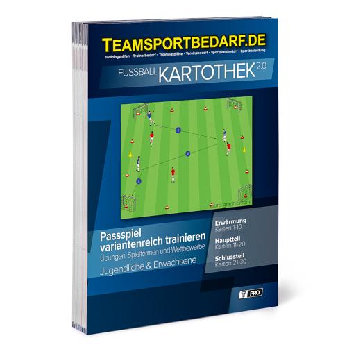 """T-PRO Kartothek 2.0 Fussball - """"Passspiel variantenreich trainieren"""""""