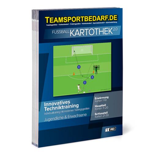 """T-PRO Kartothek 2.0 Fussball - """"Innovatives Techniktraining"""""""
