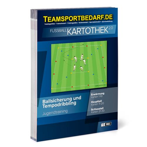 """T-PRO Kartothek 2.0 Fussball - """"Ballsicherung und Tempodribbling"""""""