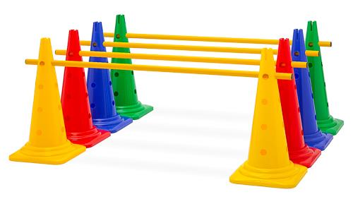 Kegelhürde (Einzelhürde), 4 Farben - Höhe: 52 cm
