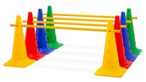 Cone Hurdle (Single Hurdle), 4 Colours - Height: 52 cm