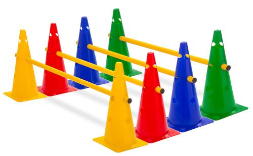 Kegelhürde (Einzelhürde), 4 Farben - Höhe: 38 cm