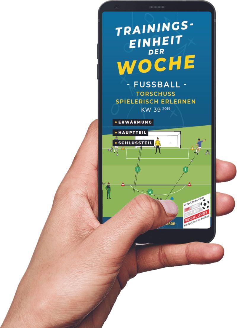 Download (KW 39) - Torschuss spielerisch erlernen (Fußball)
