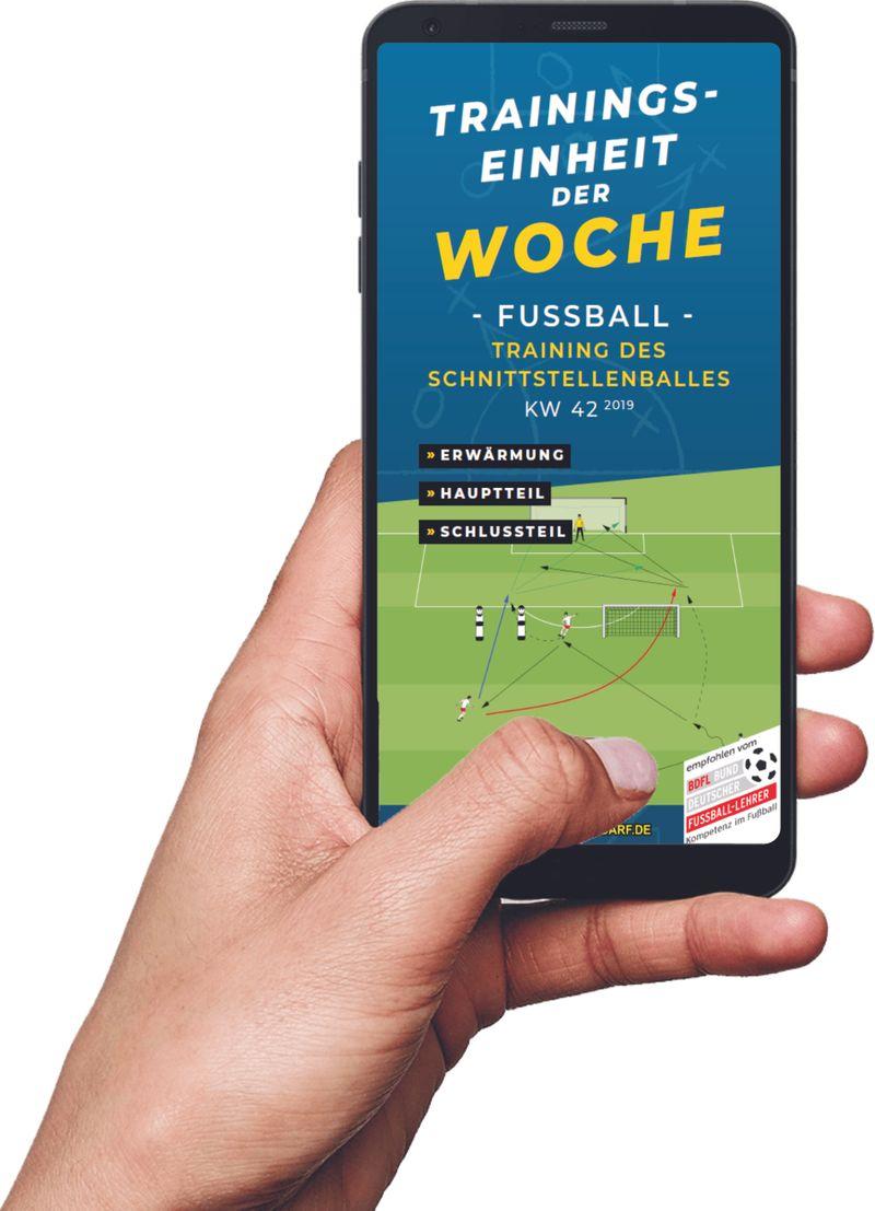 Download (KW 42) - Training des Schnittstellenballes (Fußball)