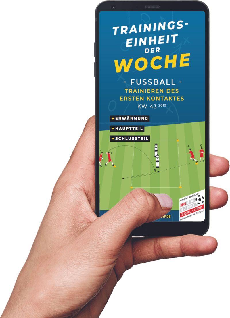 Download (KW 43) - Trainieren des ersten Kontaktes  (Fußball)