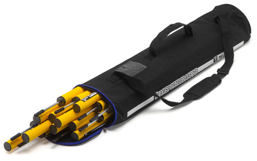 T-PRO Tasche - für 10 Slalomstangen 160 cm (2-teilig)