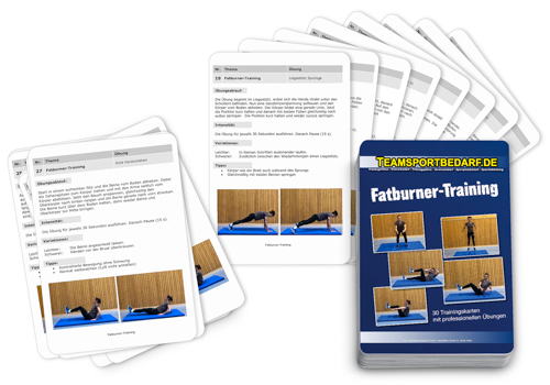 "Trainingskarten - ""Fatburner-Training"" (30 Workouts)"