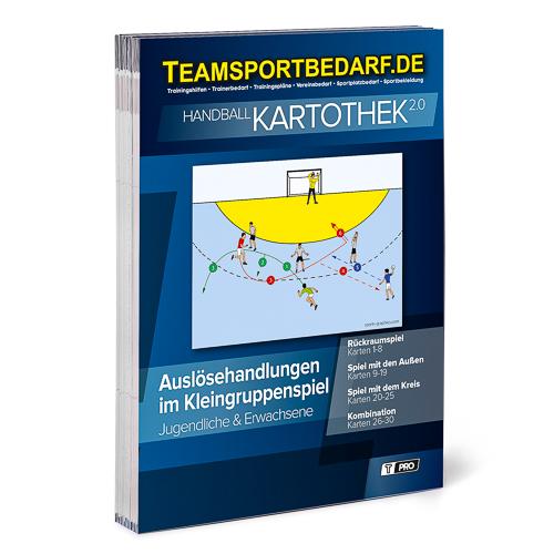 """T-PRO Kartothek 2.0 Handball - """"Auslösehandlungen im Kleingruppenspiel"""""""