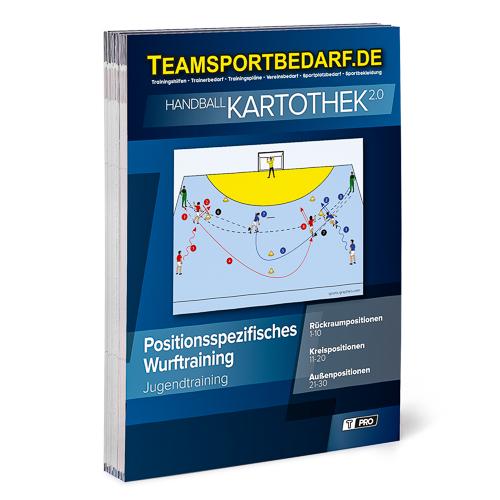 "T-PRO Kartothek 2.0 Handball - ""Präzisionsspezifisches Wurftraining"""