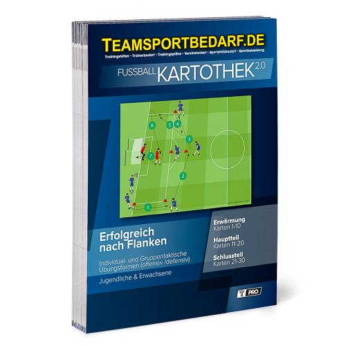 """T-PRO Kartothek 2.0 Fussball - """"Erfolgreich nach Flanken"""""""