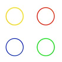 Coordination Ring ø 40 cm - 4 colours