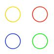 Koordinationsringe (4 Farben) - ø 40 cm