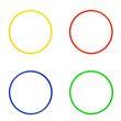 Koordinationsringe (4 Farben) - ø 50 cm 001