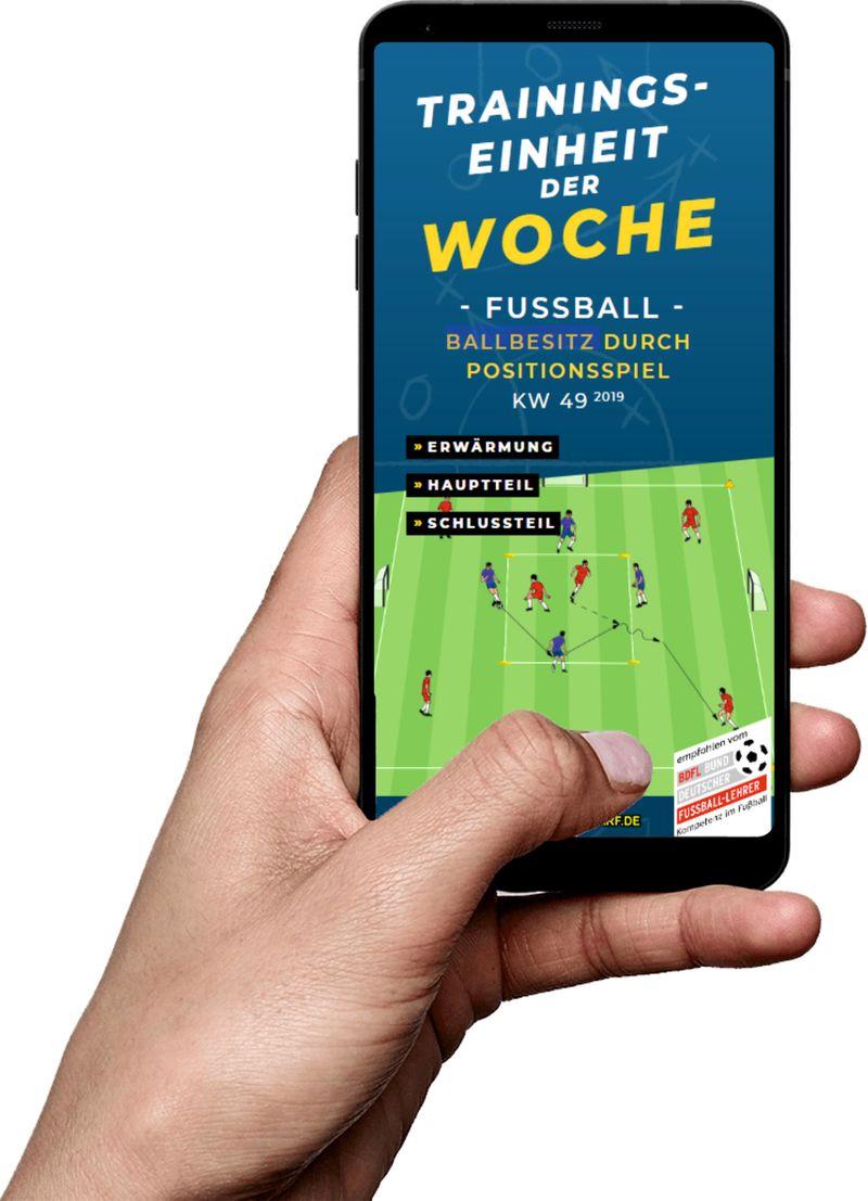 Download (KW 49) - Ballbesitz durch Positionsspiel (Fußball)