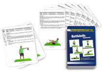 """Trainingskarten - """"Kettlebells-Kugelhanteln"""" (30 Workouts)"""