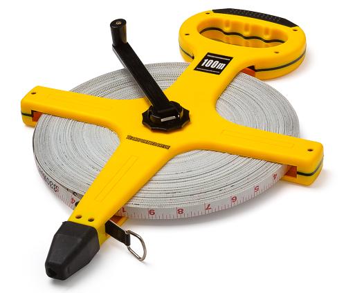 Rollbandmaß (Fiberglas) - Länge: 100 m