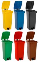 Sportplatz-Mülltonne (100 Liter) - 6 Farben