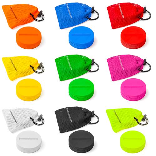 Markierscheiben ø 8,5 cm (9 Farben) - 10er Set