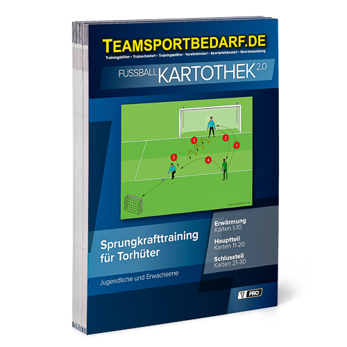 """T-PRO Kartothek 2.0 Fussball - """"Sprungkrafttraining für Torhüter"""""""