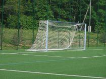Eckverschweißtes Fußballtor, Typ 2, in Hülsen stehend - Alu-Natur