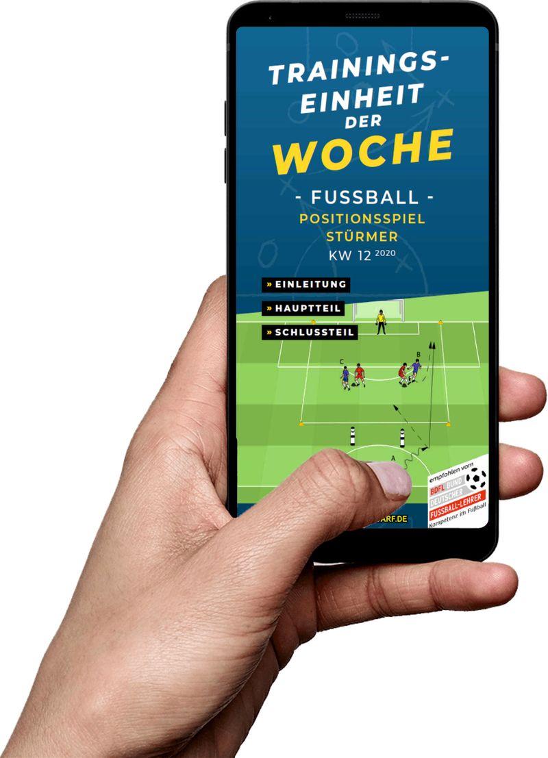 Download (KW 12) - Positionsspiel Stürmer (Fußball)