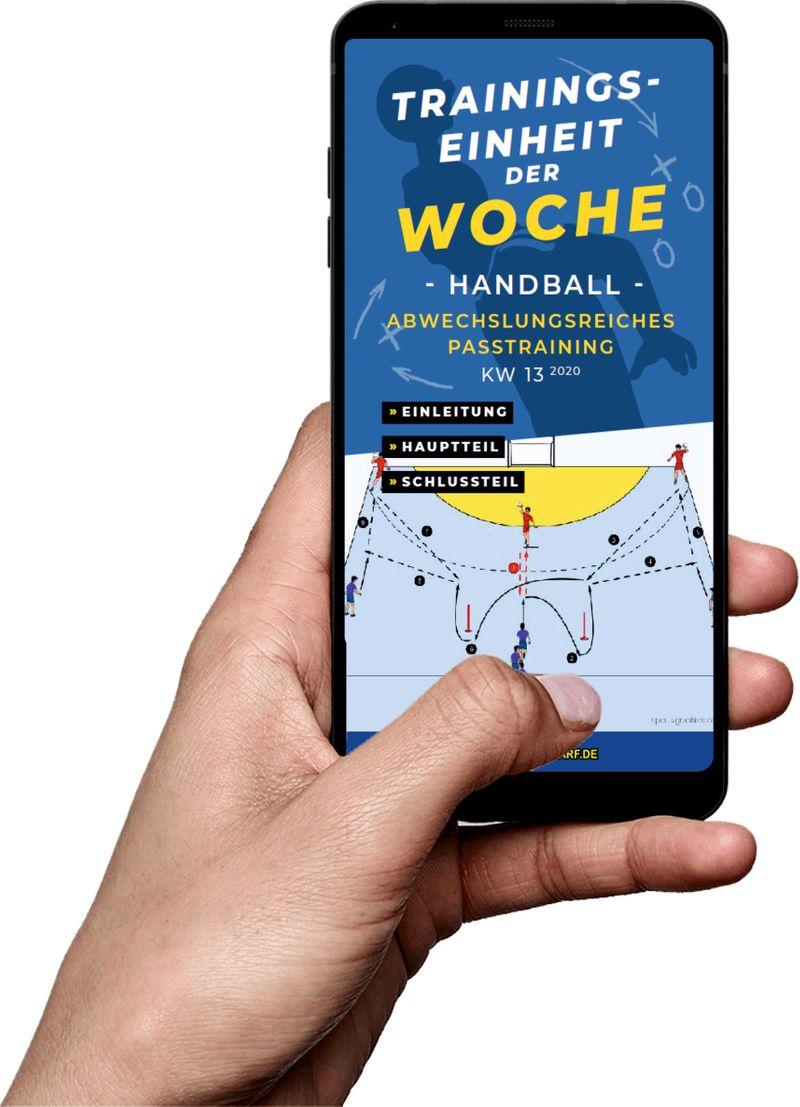 Download (KW 13) - Abwechslungsreiches Passspiel (Handball)