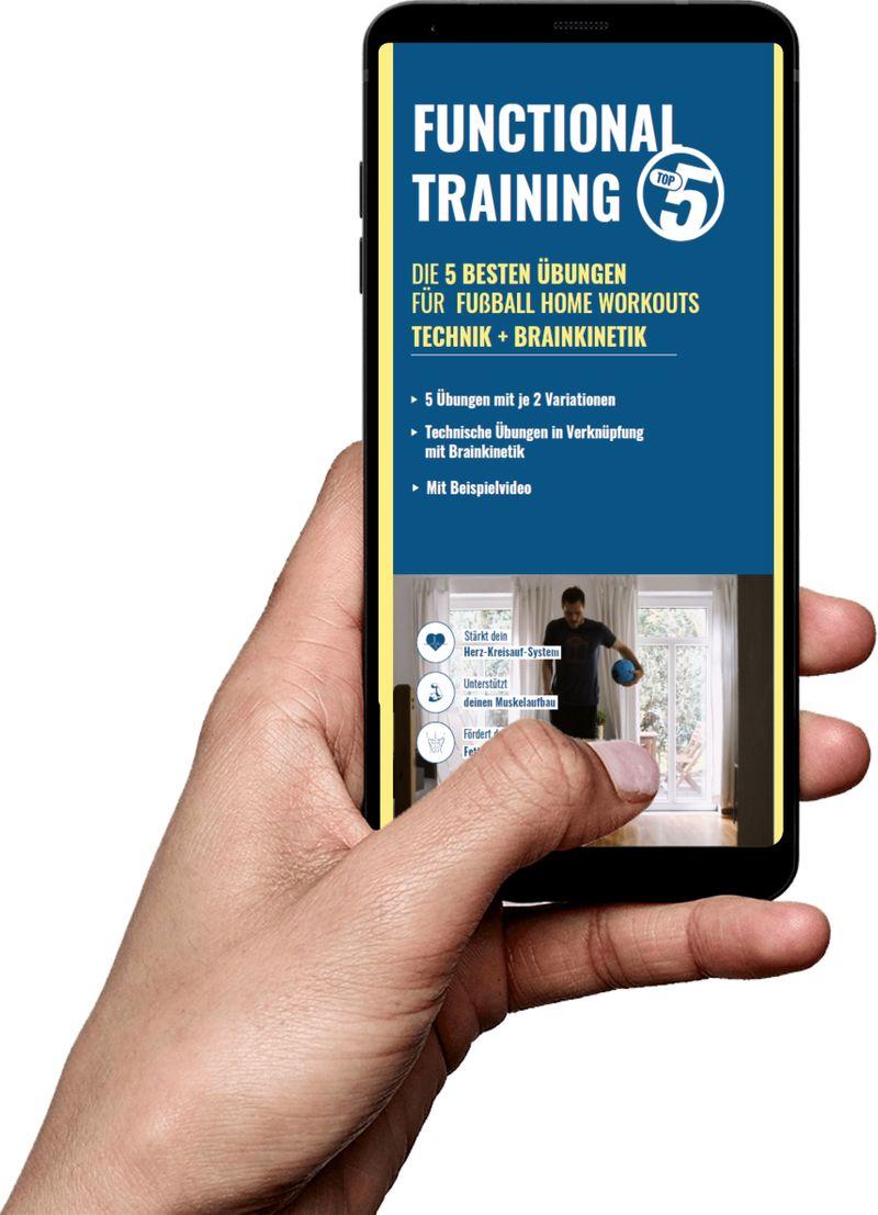 Download Top5 Trainingsübungen - Fußball Home Workouts (Brainkinetik + Technik)