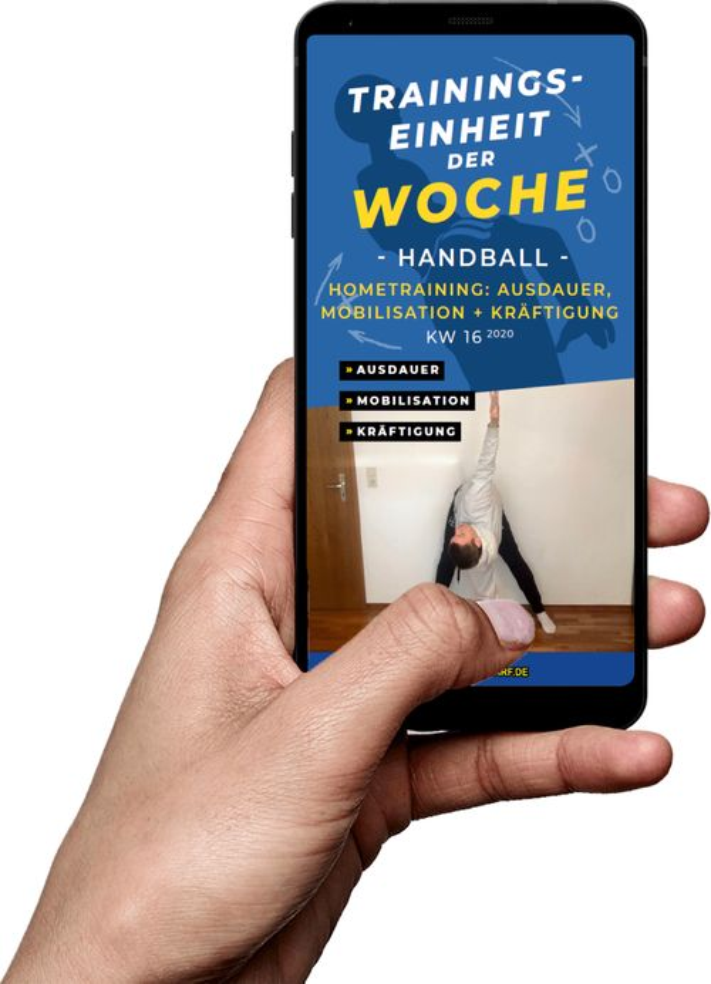 Download (KW 16) - Hometraining: Ausdauer, Mobilisation, Kräftigung (Handball)